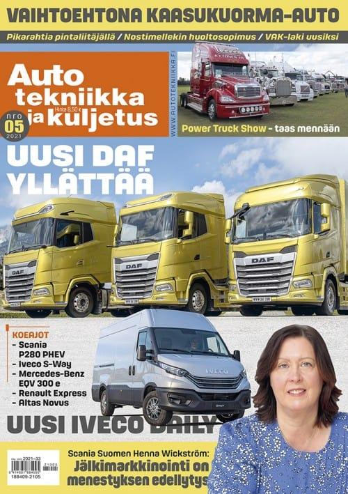 Lehden Auto tekniikka ja kuljetus kansikuva