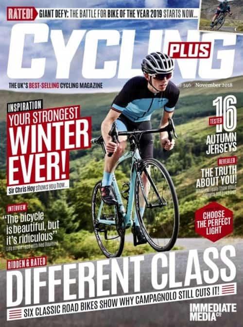 Lehden Cycling Plus kansikuva
