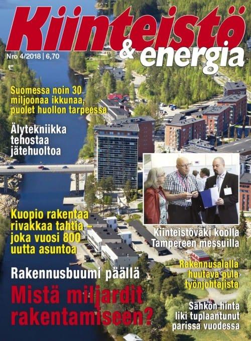 Lehden Kiinteistö ja Energia kansikuva