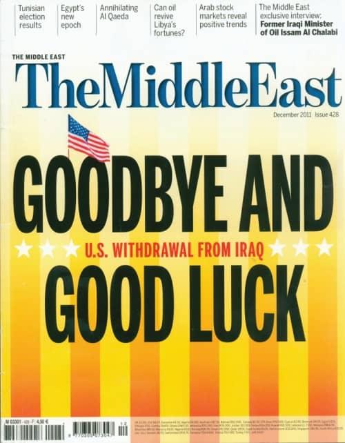 Lehden Middle East kansikuva