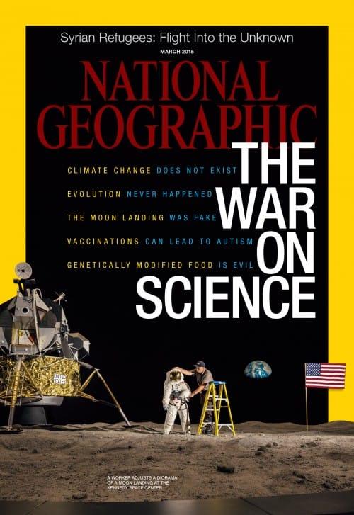 Lehden National Geographic (US) kansikuva